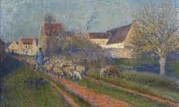 Journées du patrimoine 2018 - Exposition de quelques toiles de Jules-Louis Rame