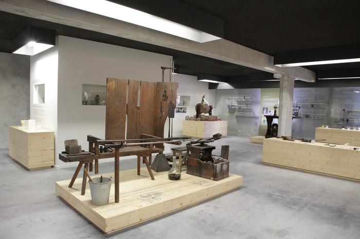 Journées du patrimoine 2018 - Expositions permanentes au musée du verre de Meisenthal.