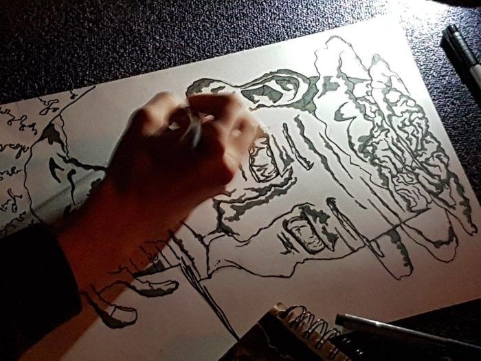 Expositions  (Photos - Dessins) : Street Art/Dessin Fusain Etudiant Ensa Nuit de la lecture/Photos Etudiants Ingénieurs 3il