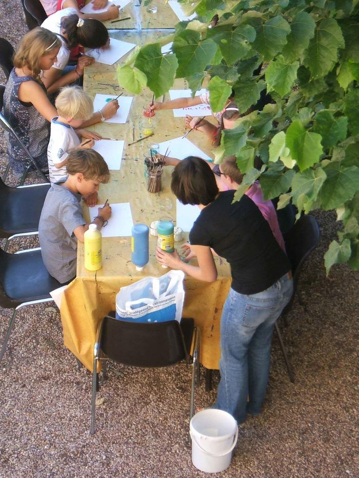 Journées du patrimoine 2018 - Expression Libre : atelier de peinture jeune public à partir de 3 ans