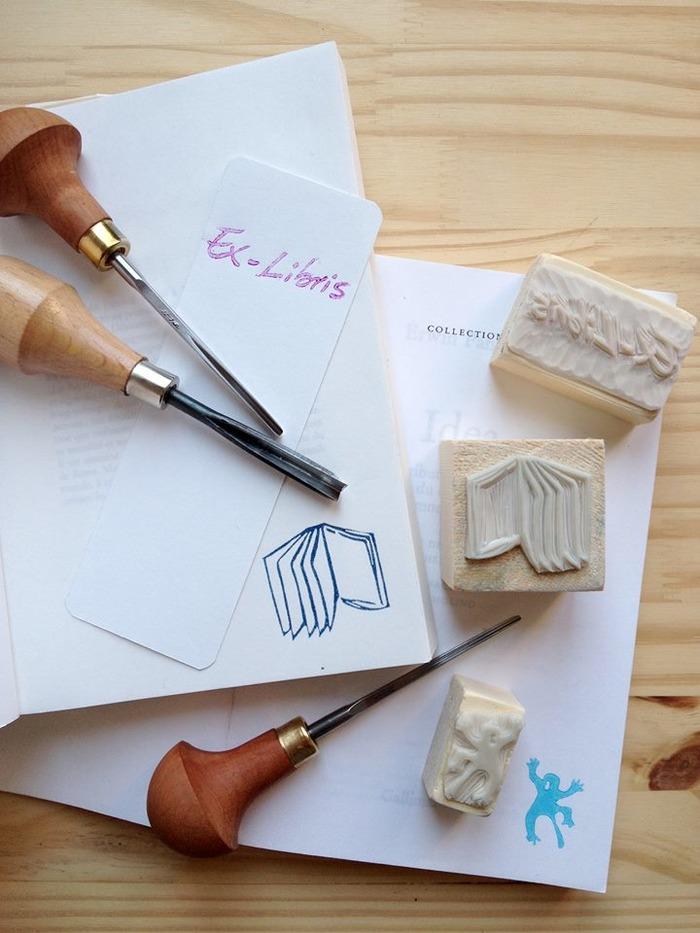 Journées du patrimoine 2018 - Atelier pour fabriquer son propre ex-libris