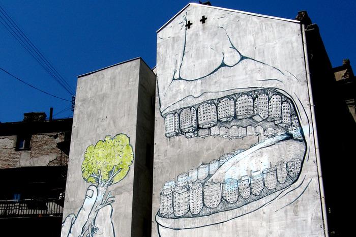Face au mur