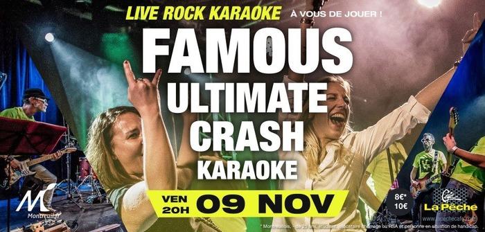Famous Ultimate Crash Karaoké - Café la Pêche (93)