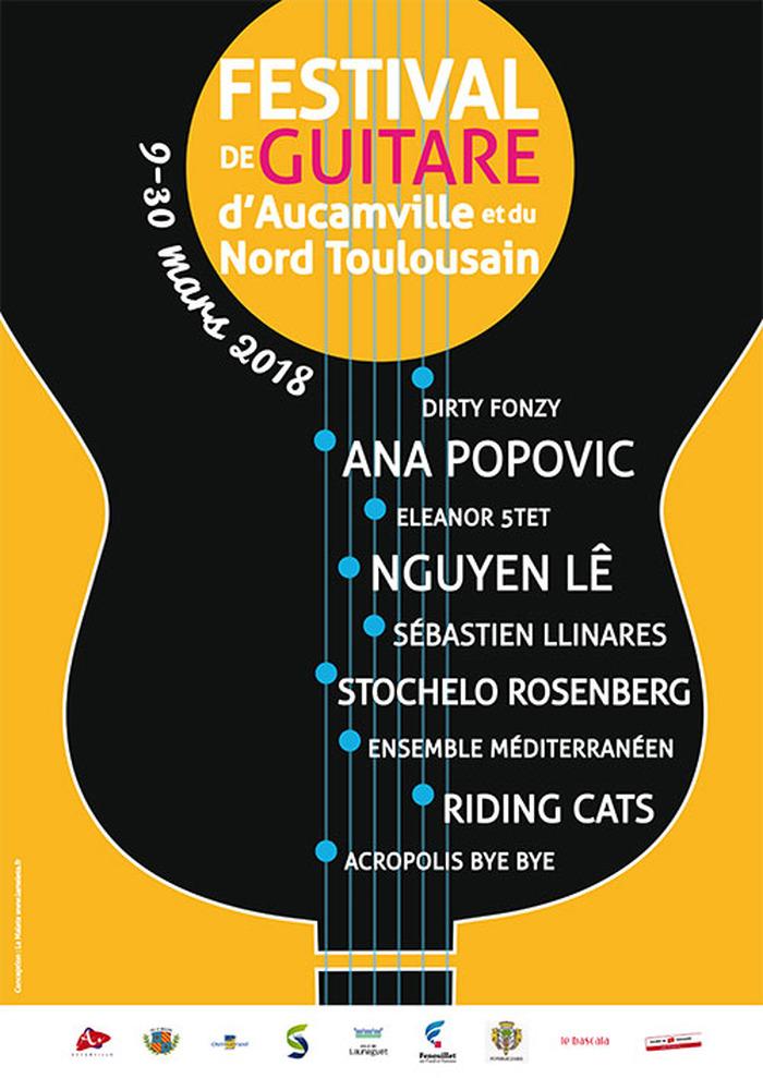 Festival de Guitare d'Aucamville et du Nord Toulousain - Du 9 au 30 Mars