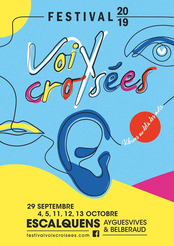 Festival Voix croisées : 29 septembre > 13 octobre 2019