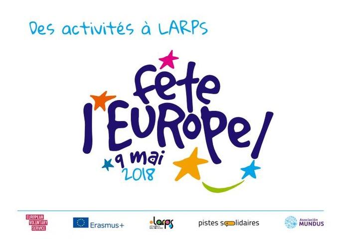 Fête de l'Europe au LARPS