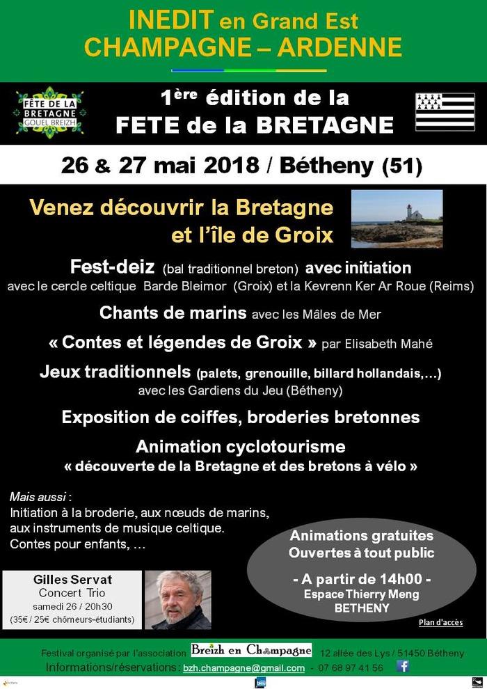 Fête de la Bretagne en Champagne Ardenne
