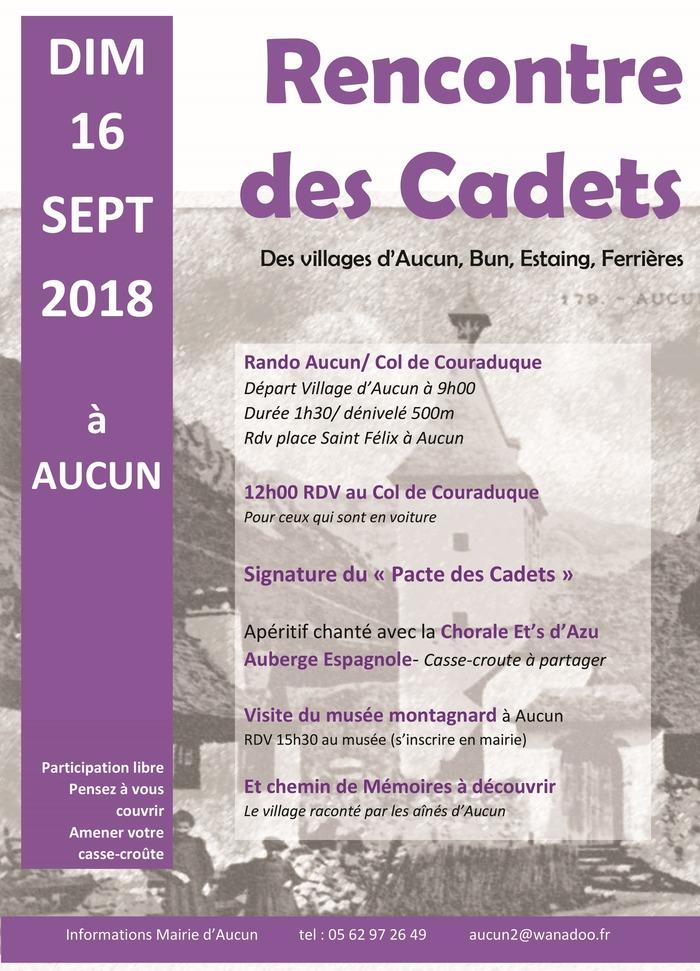 Journées du patrimoine 2018 - Fête des Cadets