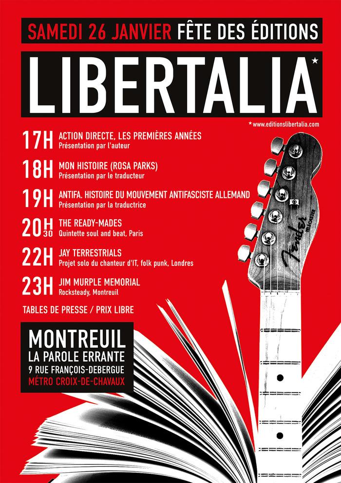 Fête des éditions Libertalia