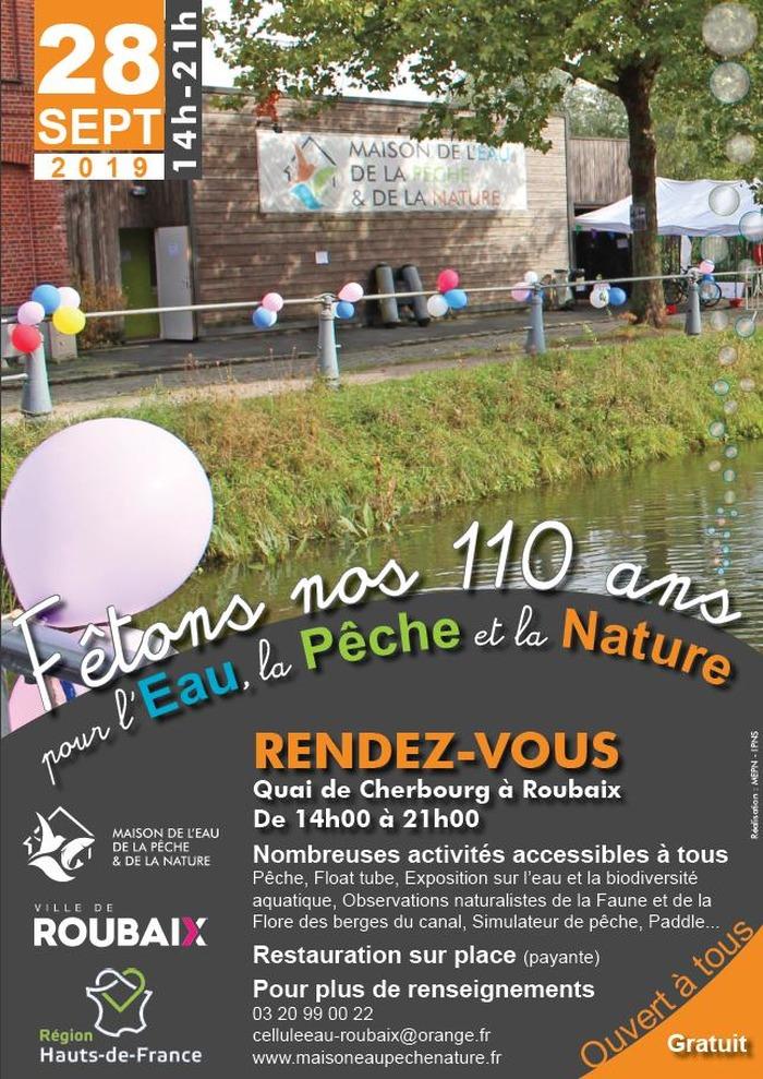 Fêtons les 110 ans du patrimoine naturel et culturel du Canal de Roubaix