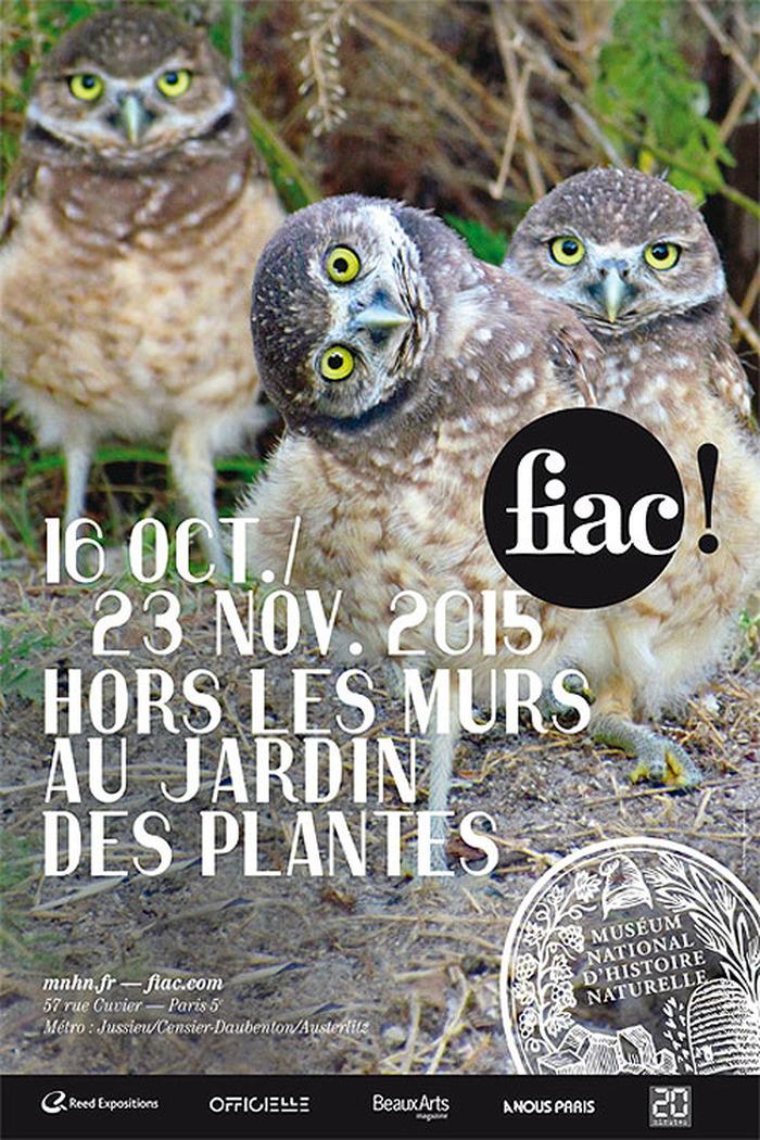 Fiac hors les murs 2015 au jardin des plantes for Fiac 2015 jardin des plantes