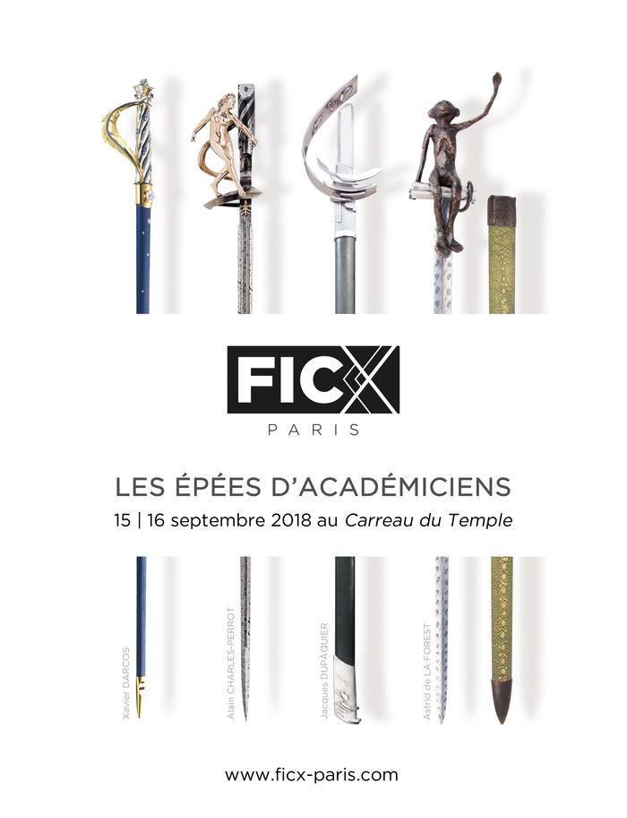 Journées du patrimoine 2018 - FICX-Paris, le Forum International du Couteau Contemporain | 100 couteliers d'art venant de 20 pays, et une exposition d'épées d'académicien
