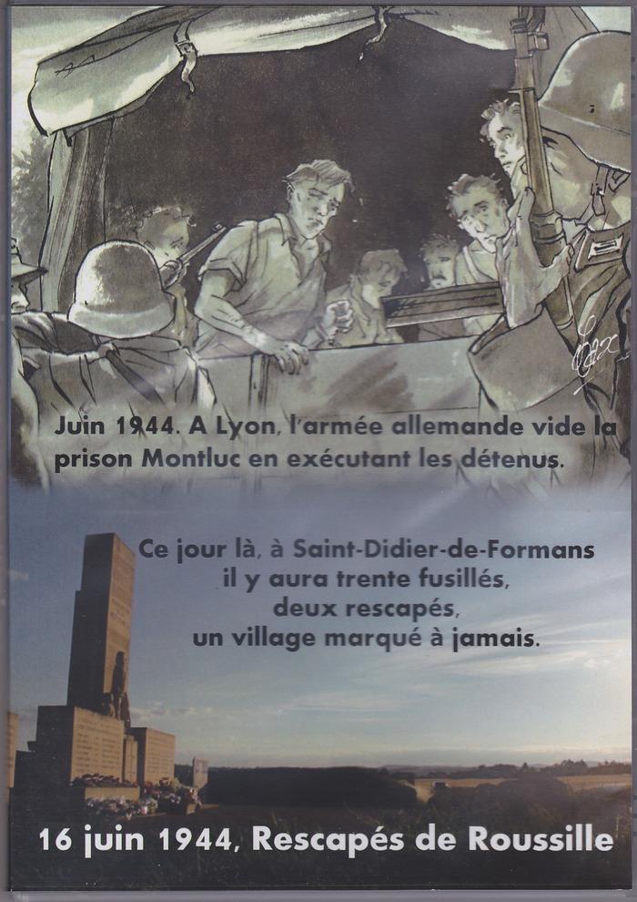 Journées du patrimoine 2017 - Projection d'un film sur le drame de Rousille.