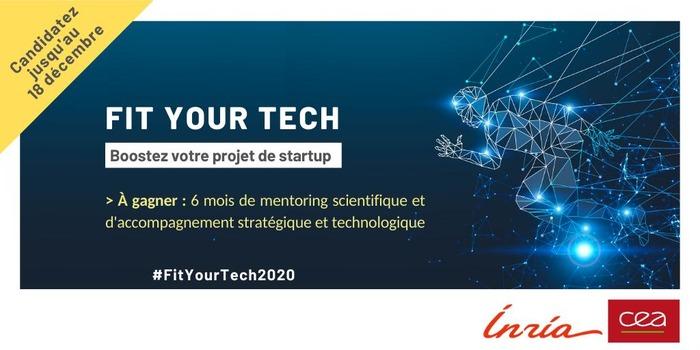 Fit Your Tech : boostez votre projet de startup