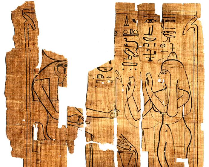 Journées du patrimoine 2018 - Florilège des plus beaux papyrus de la Sorbonne