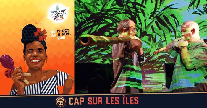 Flûtes Insulaires de Jean-Luc Thomas et Hopi (guest : Max Cilla)