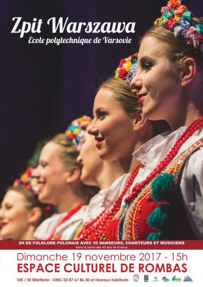 Folklore polonais avec Zpit Warszawa