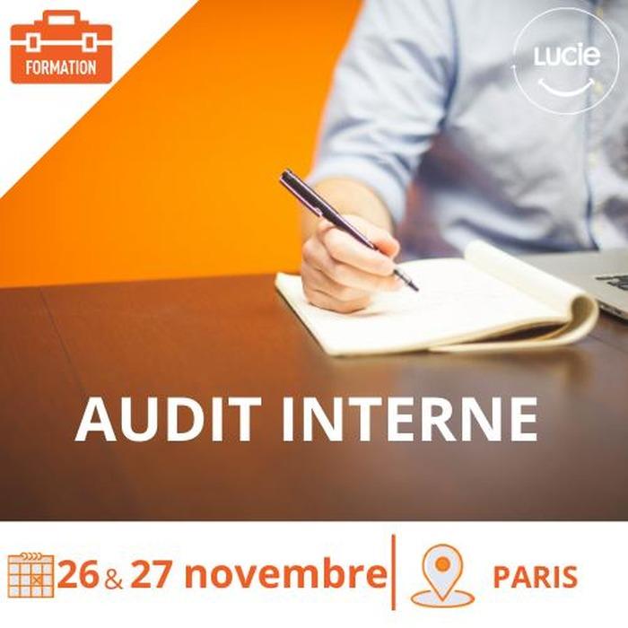 Formation : L'audit interne