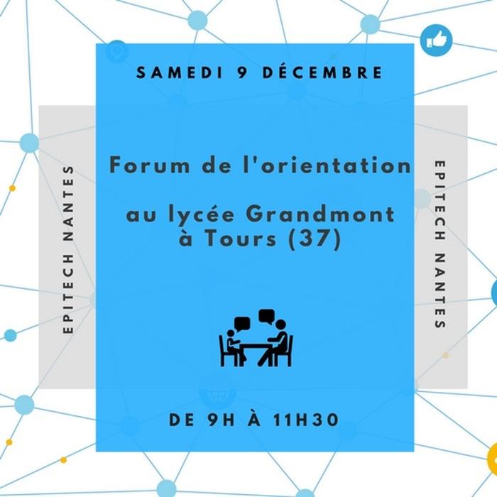 Forum d'orientation Lycée Grandmont à Tours