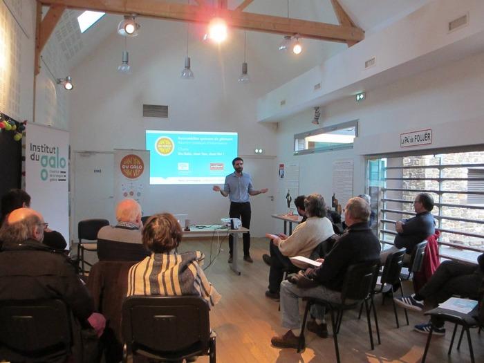 Journées du patrimoine 2018 - Forum-discussion sur le Gallo, langue d'oïl de Haute Bretagne.