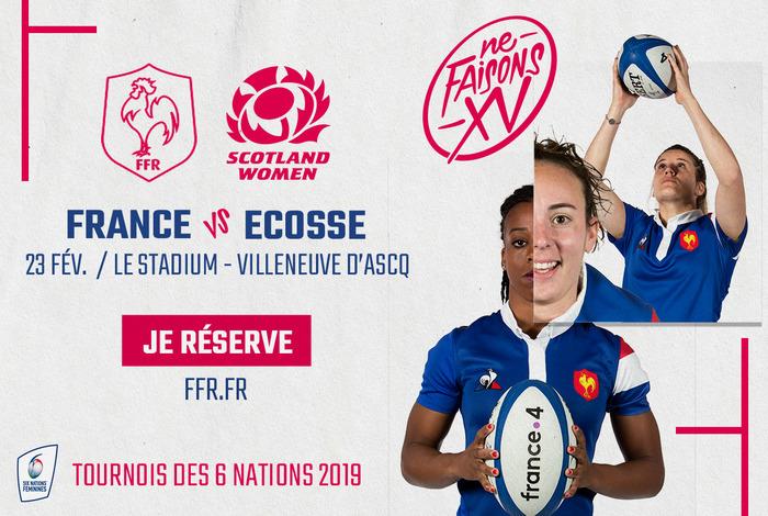 France - Écosse / Tournoi des 6 nations féminin