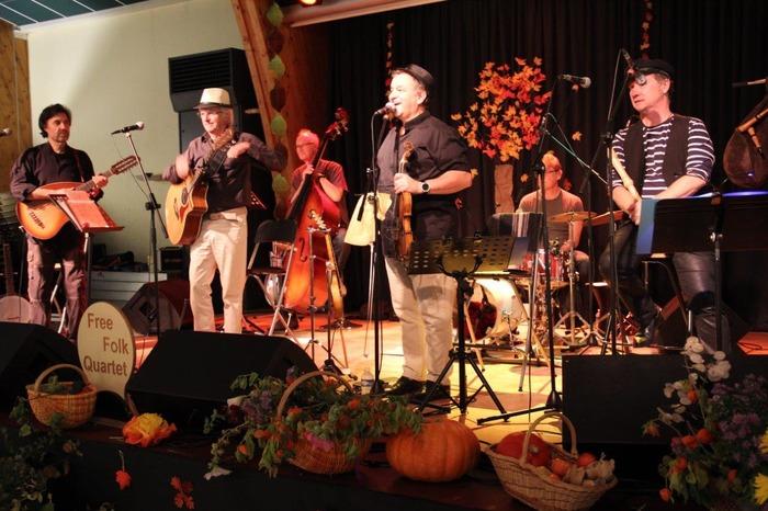 Free Folk Quartet en concert