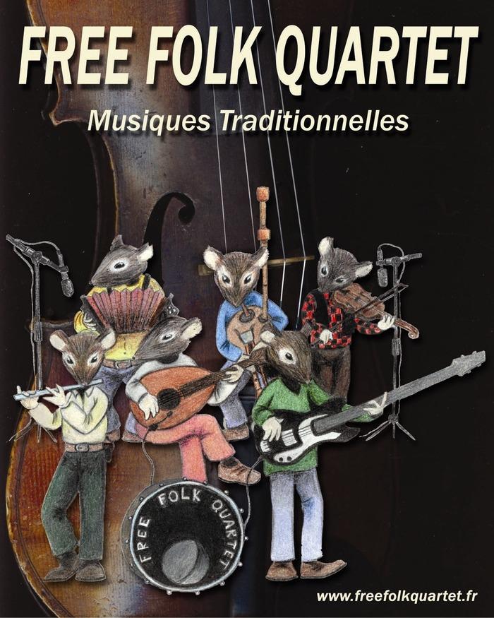 Free Folk Quartet Fête Jeanne d'Arc à Domrémy-la-Pucelle (88)