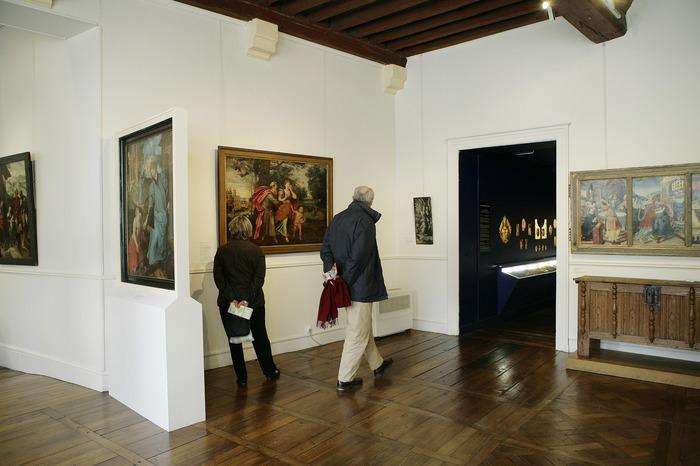 Crédits image : Intérieur du musée de Vauluisant - Photographie : Carole Bell