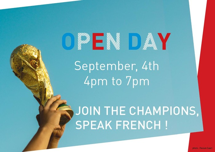 French Classes's OPEN DAY | IFJ - Romain Gary
