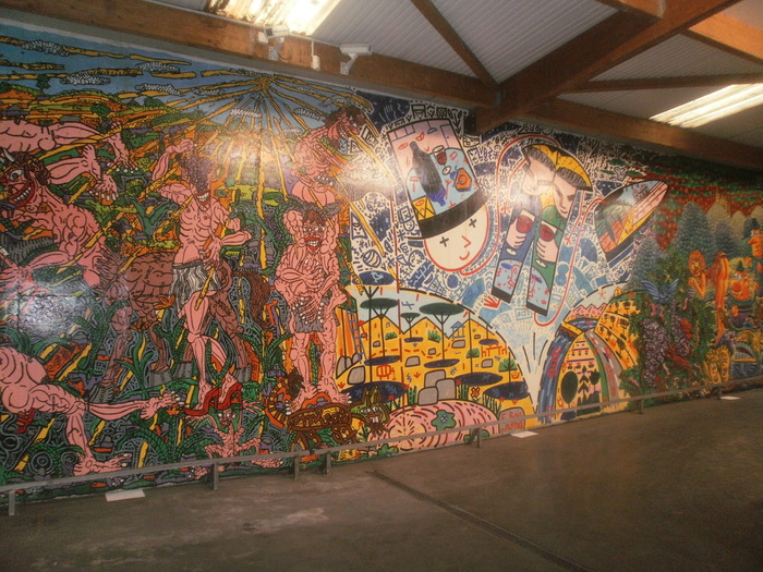 Journées du patrimoine 2018 - Visite guidée : fresque peinte par Di Rosa, Combas, Blanchard , Boisrond