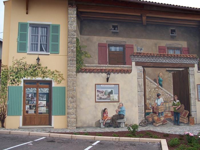 Journées du patrimoine 2017 - Fresque des Vourlois
