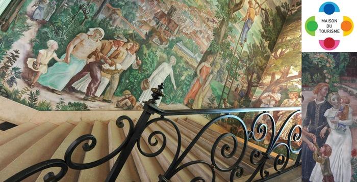 Journées du patrimoine 2017 - Fresques de l'Hôtel de Ville de Vesoul