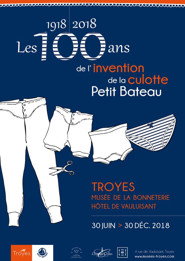 Journées du patrimoine 2018 - Visite guidée des 100 ans de l'invention de la culotte Petit Bateau