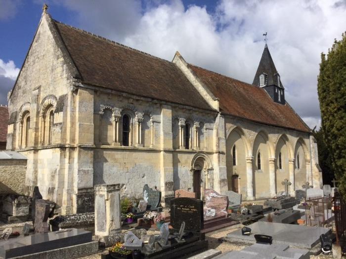 Journées du patrimoine 2018 - Visite guidée du prieuré attenant à l'église Saint-Aubin