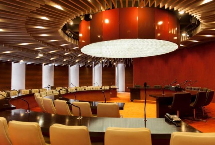Journées du patrimoine 2018 - Visite commentée de la salle du Conseil Municipal de l'hôtel de ville de Bobigny