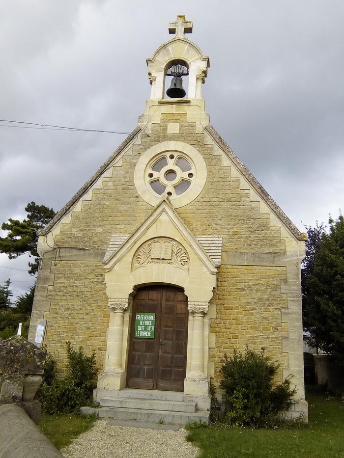 Journées du patrimoine 2018 - Visite guidée du temple protestant de Lion-sur-Mer