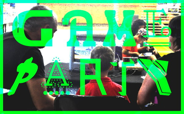 Game Party à la Médiathèque de Carnot, St-Étienne