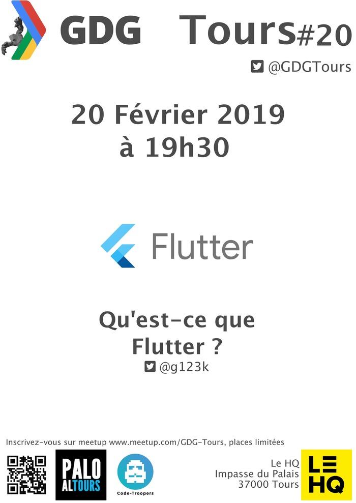 GDG #20 : Qu'est-ce que Flutter ?