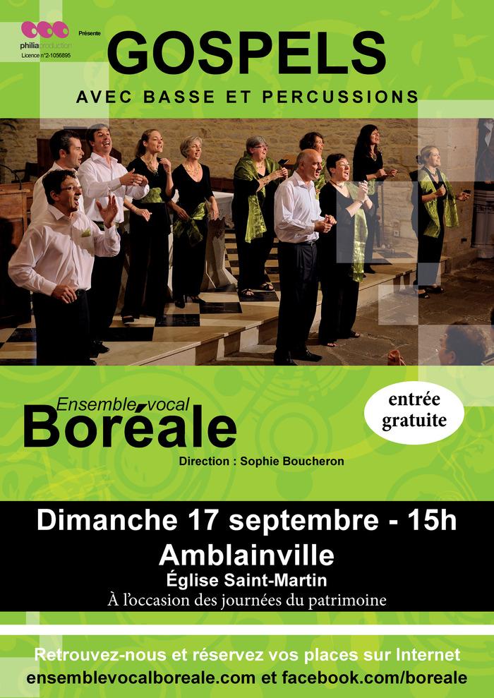 Crédits image : Ensemble vocal Boréale et Municipalité d'Amblainville