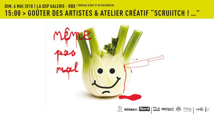 """Goûter des artistes & Atelier créatif – """"Même pas mal ! Scruiitch !�"""