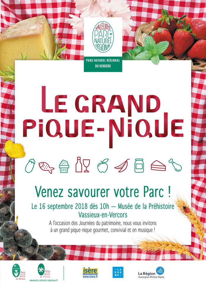 Journées du patrimoine 2018 - Grand pique-nique et petit marché de producteurs