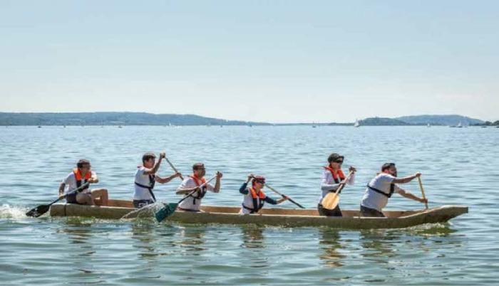 Journées du patrimoine 2017 - Grande traversée lacustre : course de pirogues