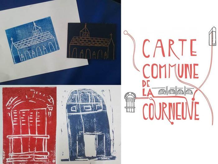 Journées du patrimoine 2018 - Gravures d'« images » de La Courneuve / Atelier d'initiation à la linogravure
