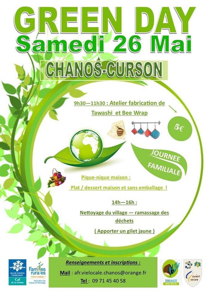 Green day à Chanos curson