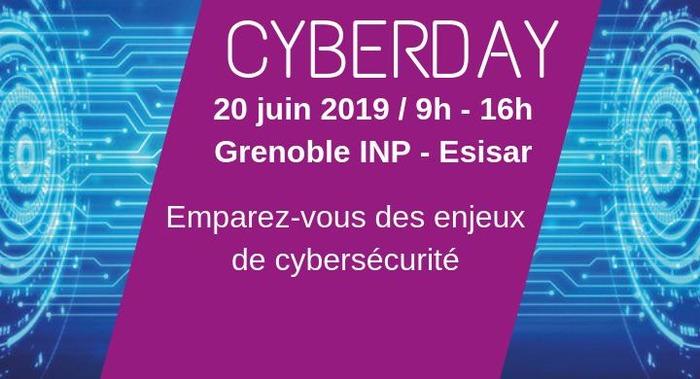 [Grenoble INP Esisar ] Inscrivez-vous au Cyberday