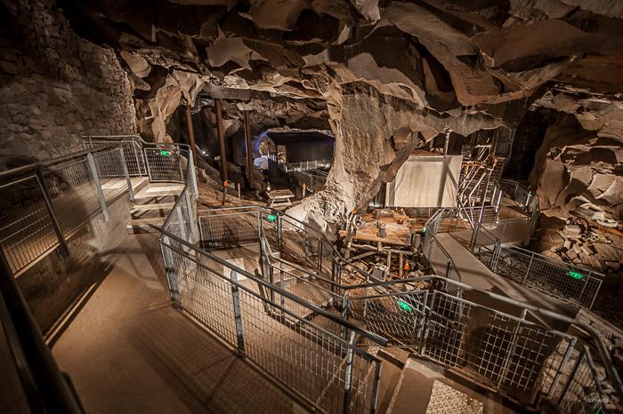 Journées du patrimoine 2018 - Projection à la grotte de la Pierre.