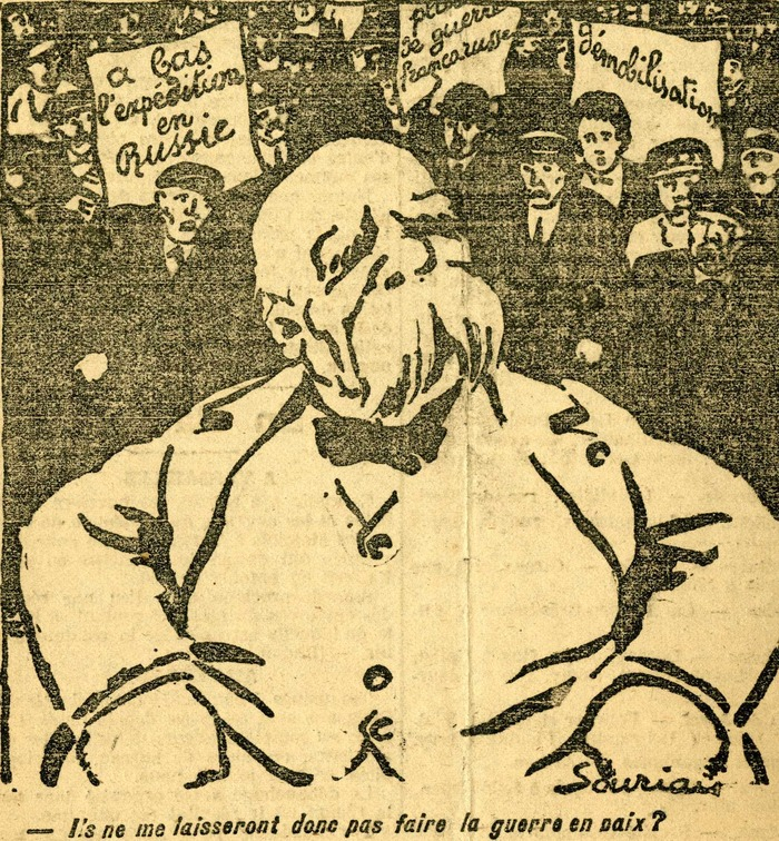 Journées du patrimoine 2018 - Guerre et Paix : Clemenceau vu par la caricature (1915-1919)