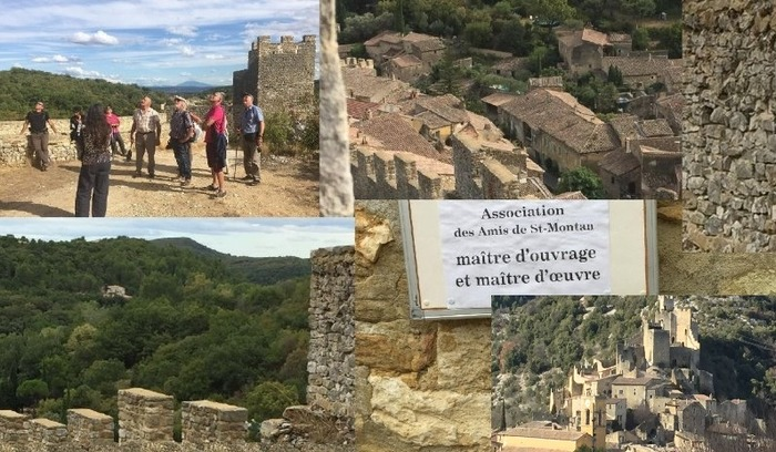 Journées du patrimoine 2018 - Circuit commenté du village médiéval de Saint-Montan.