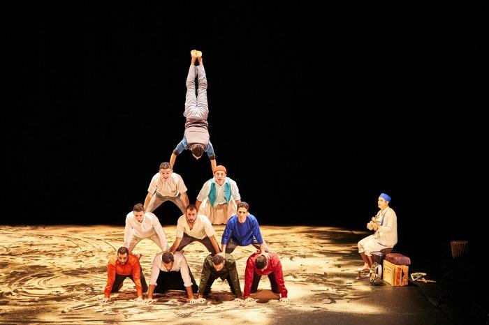 Halka par le Groupe Acrobatique de Tanger