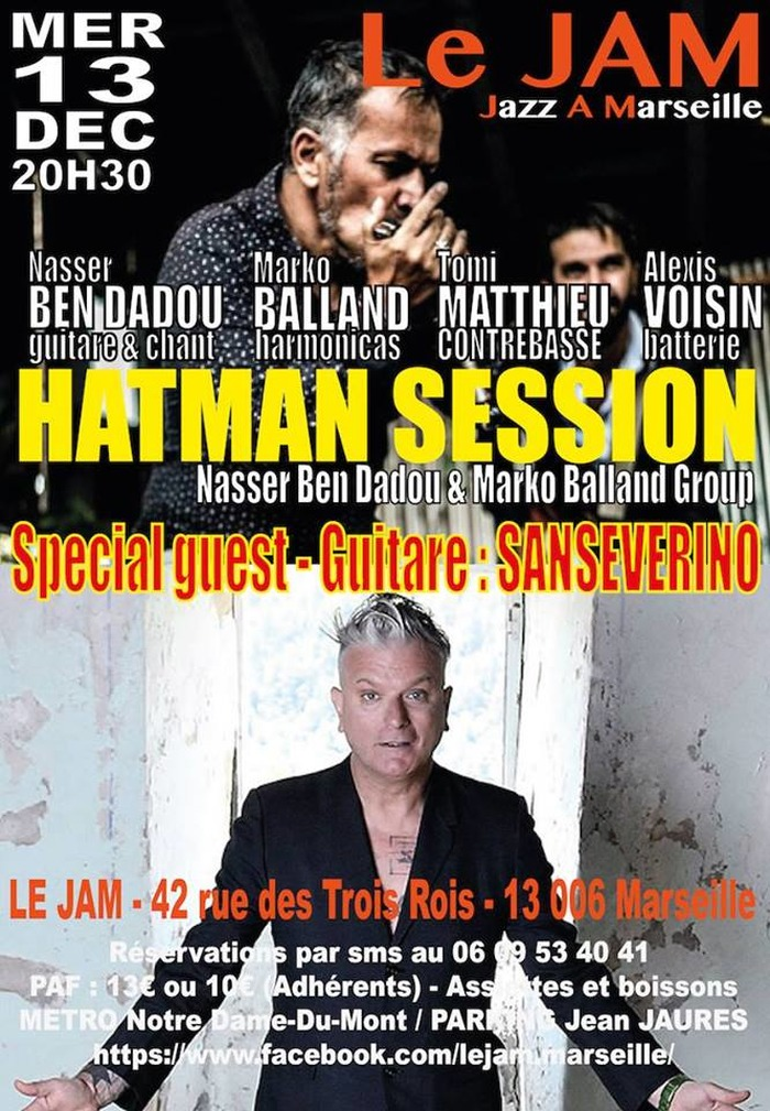Hatman session invite Sanseverino